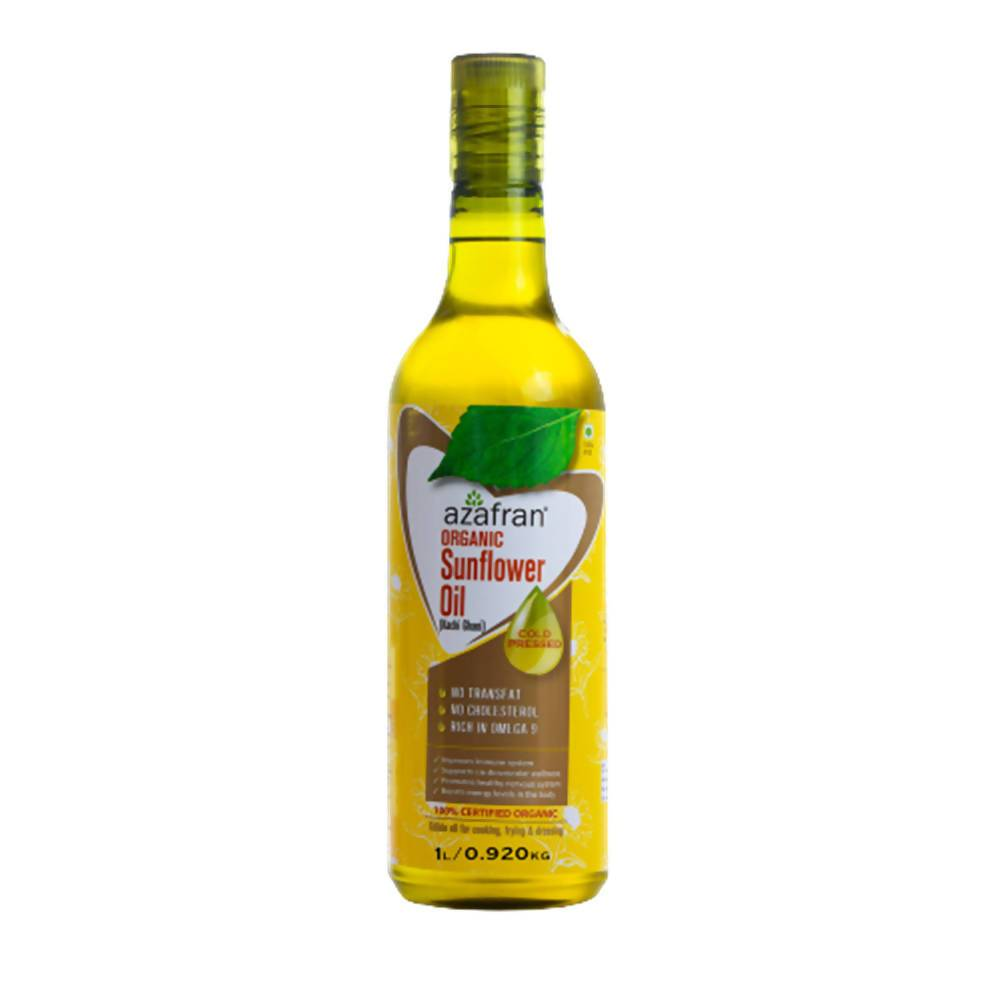 Azafran Organic Sunflower Oil (Cold Pressed) - Distacart