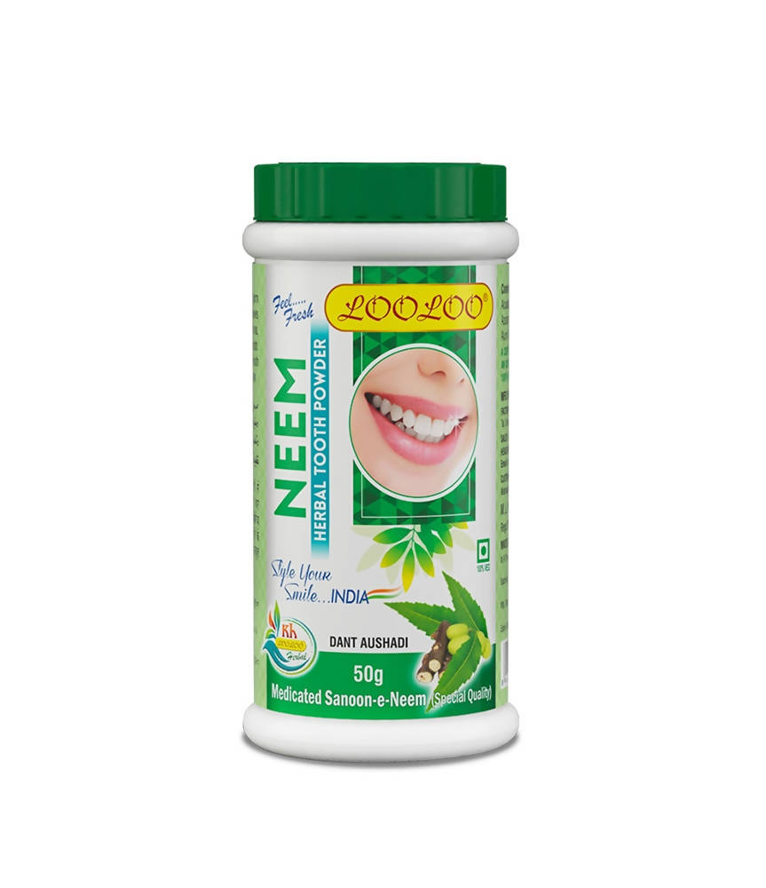 Looloo Neem Herbal Tooth Powder - Distacart