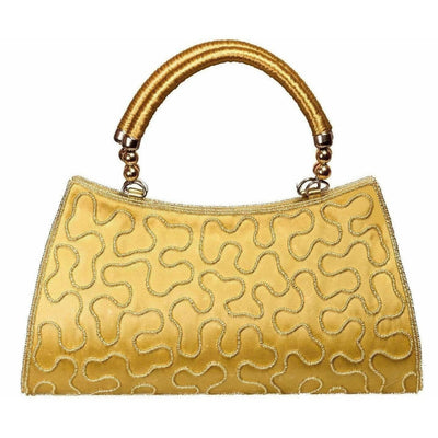 Louise Belgium Hand-held Bag  (Gold)