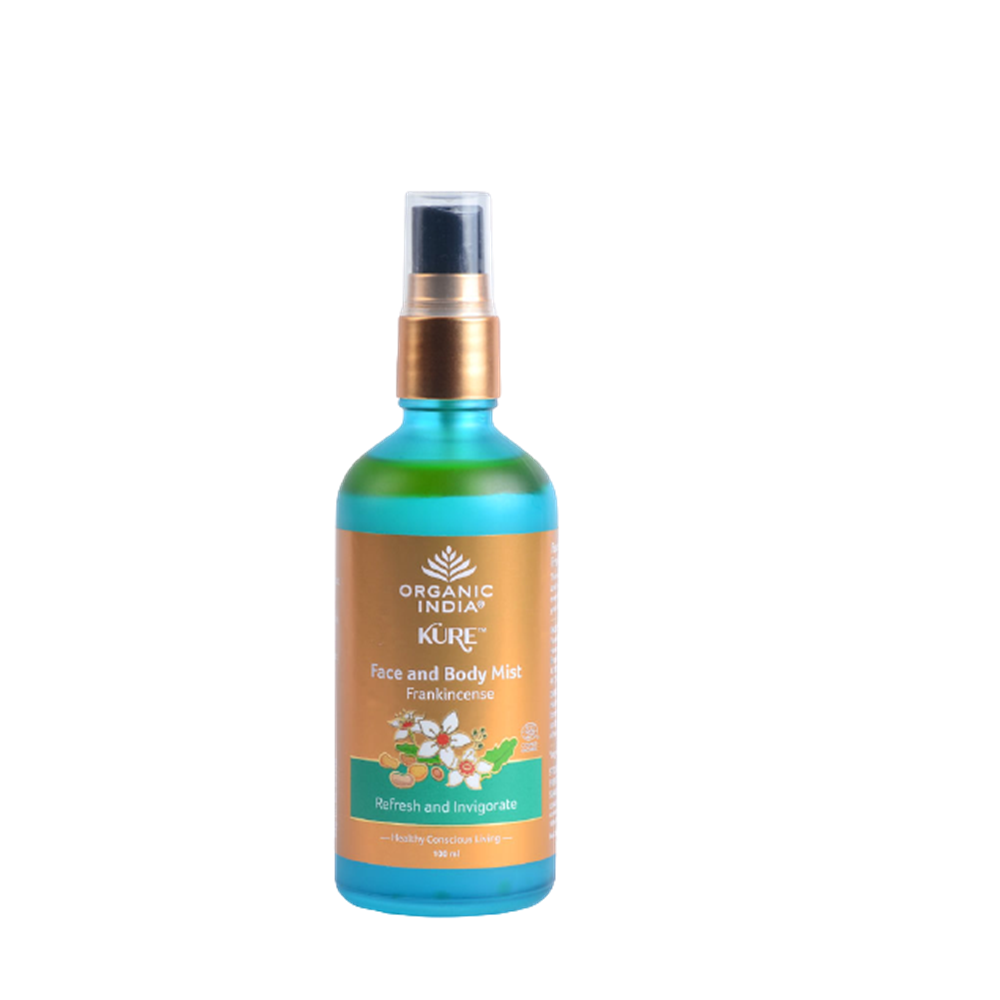 Organic India Face and Body Mist Frankincense - Distacart