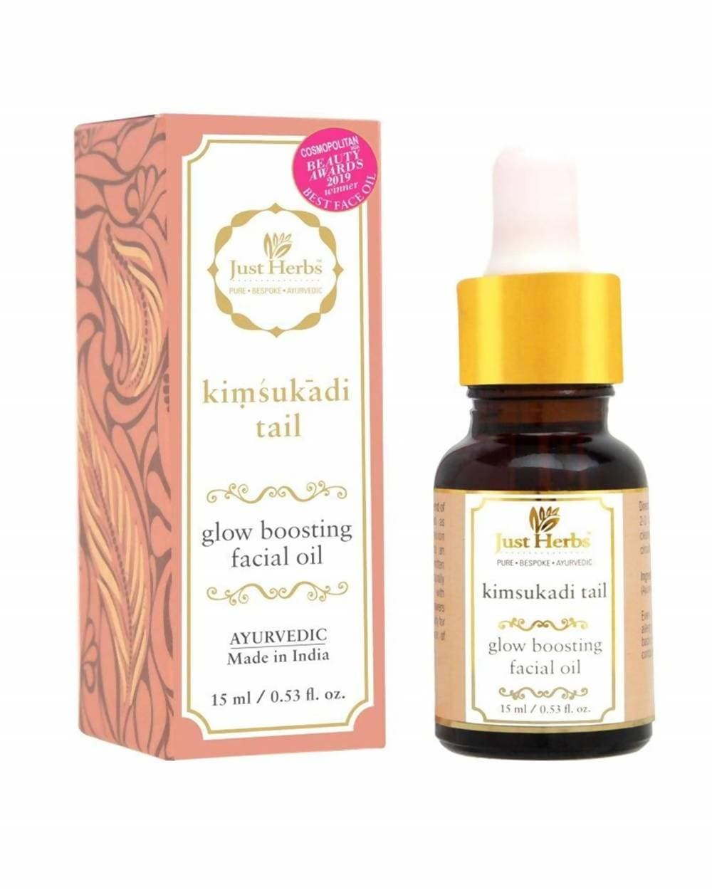 Just Herbs Ayurvedic Kimsukadi Tail Glow Boosting Facial Oil