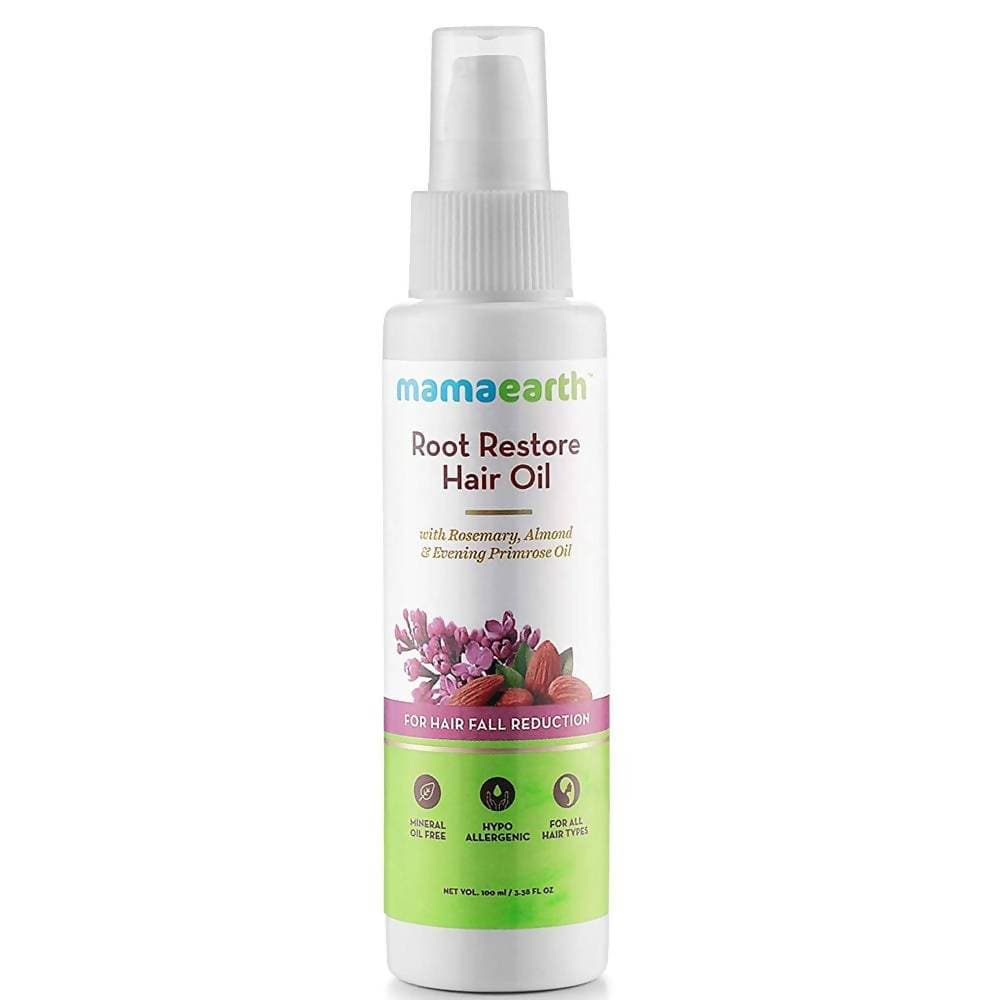 Mamaearth Root Restore Hair Oil For Hail Fall Reduction