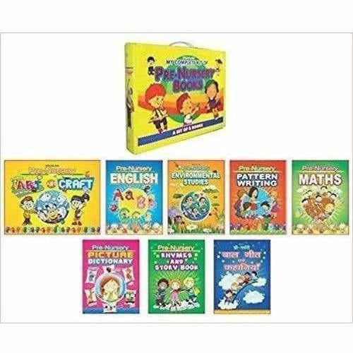 Complete Kit Of Pre-Nursery Books - A Set of 8 Books