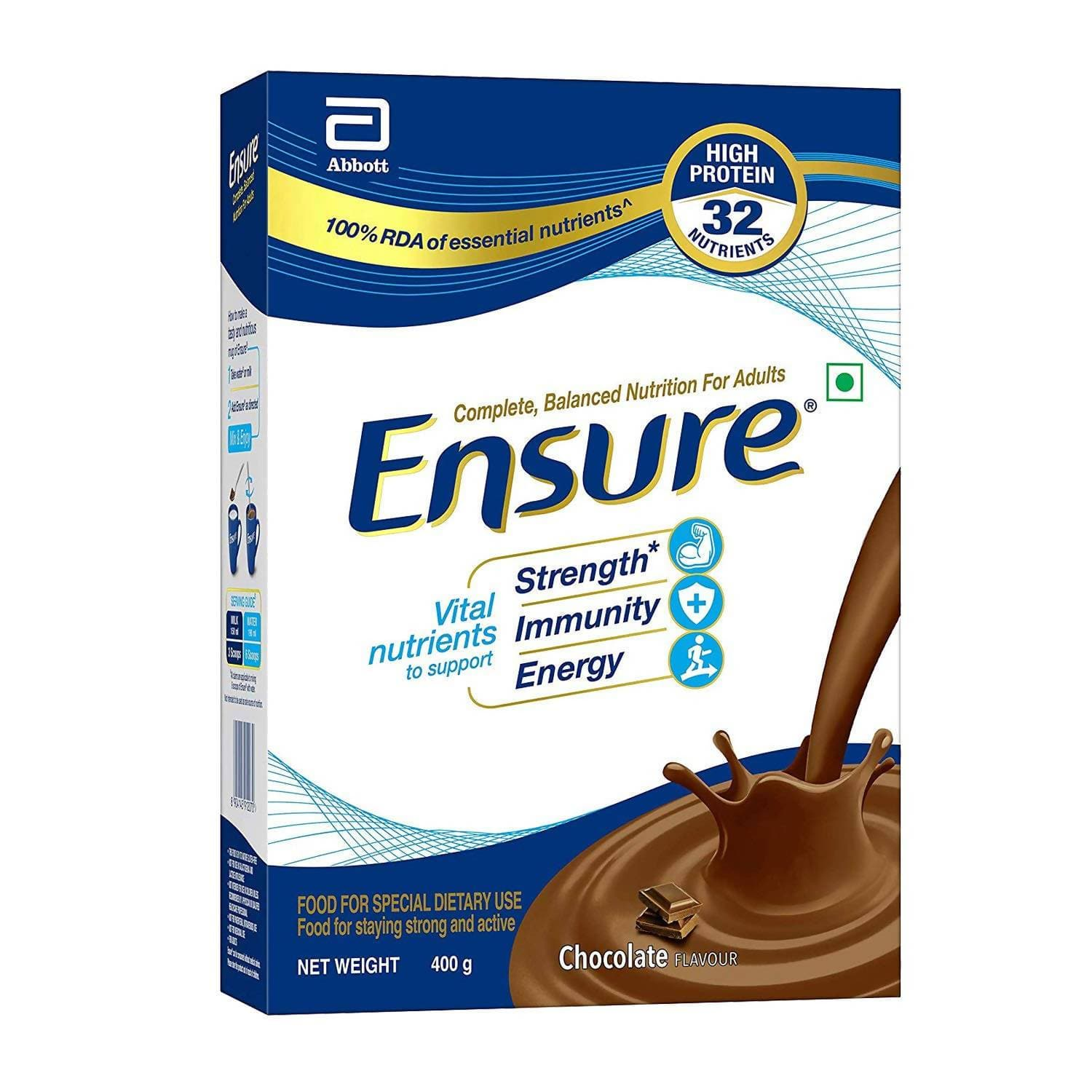 Ensure Nutritional Powder Chocolate Flavour