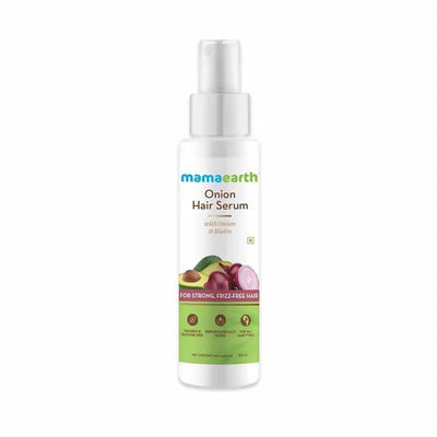 Mamaearth Onion Conditioner + Hair Mask + Hair Oil + Hair Serum For Hair Fall Control