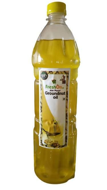 FreshOn.in Cold Pressed Groundnut Oil
