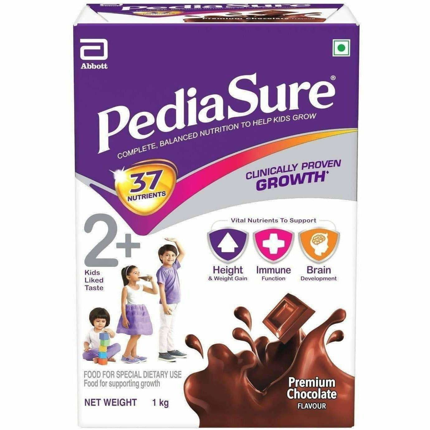 Pediasure Health and Nutrition Drink Powder for Kids Growth Chocolate Flavour