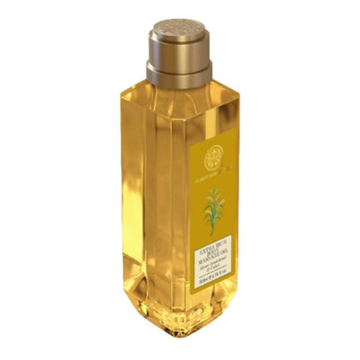 Forest Essentials Extra Rich Body Massage Oil Mysore Sandalwood & Vetiver - Distacart