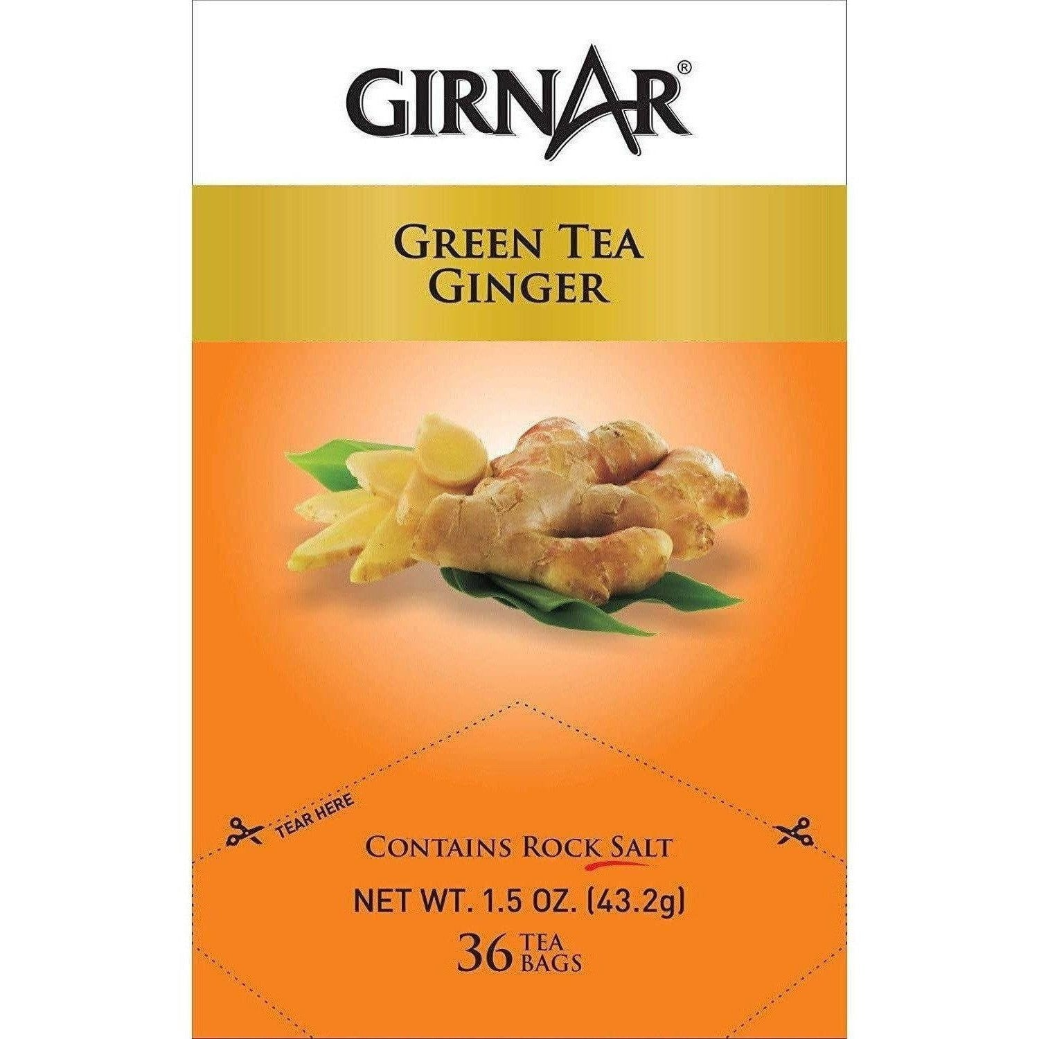 Girnar Green Tea Ginger