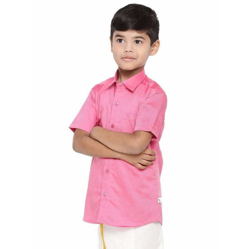 Ramraj - Giza Cotton Set - Pink