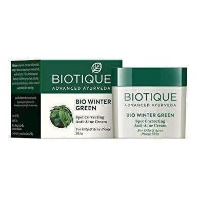 Biotique Bio Winter Green Spot Correcting Anti Acne Cream