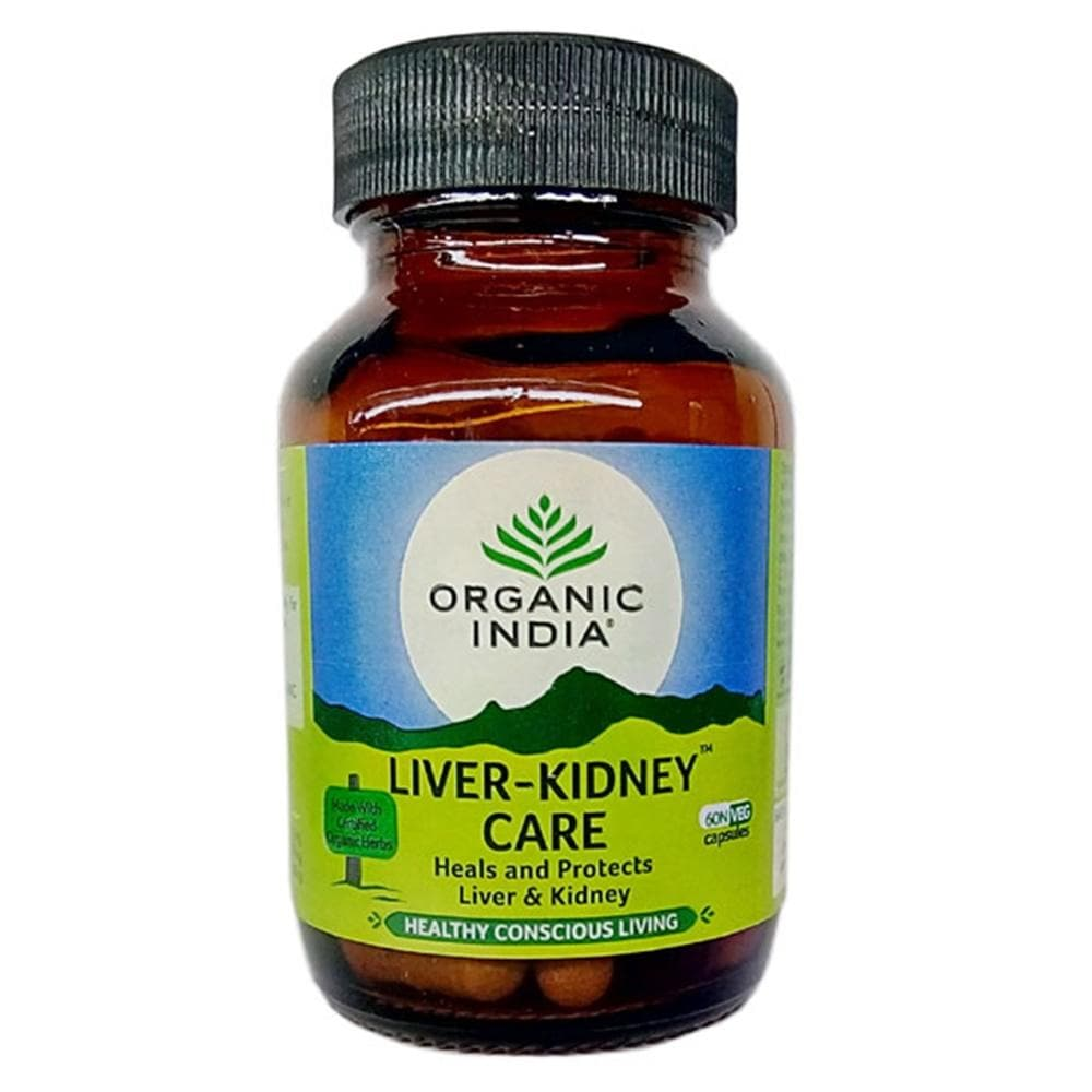 Organic India Liver Kidney Care - Distacart