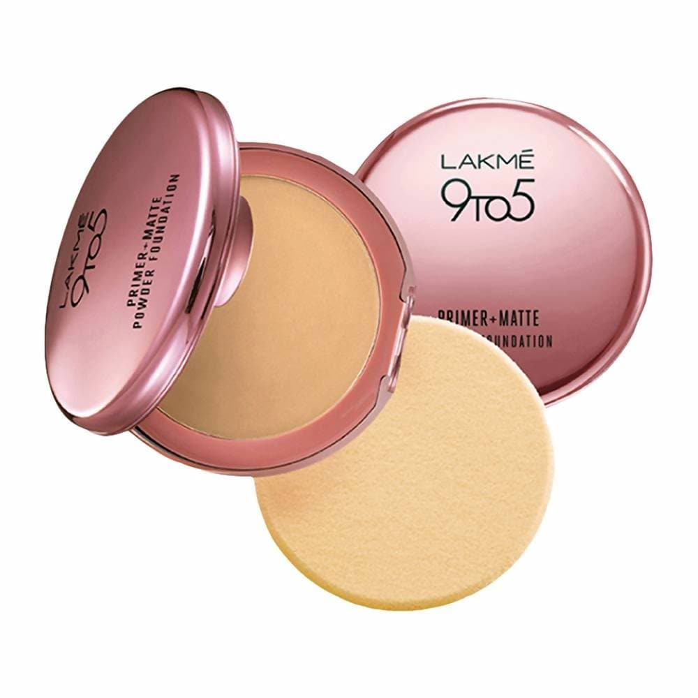 Lakme 9 To 5 Primer with Matte Powder Foundation Compact - Ivory Cream - Distacart