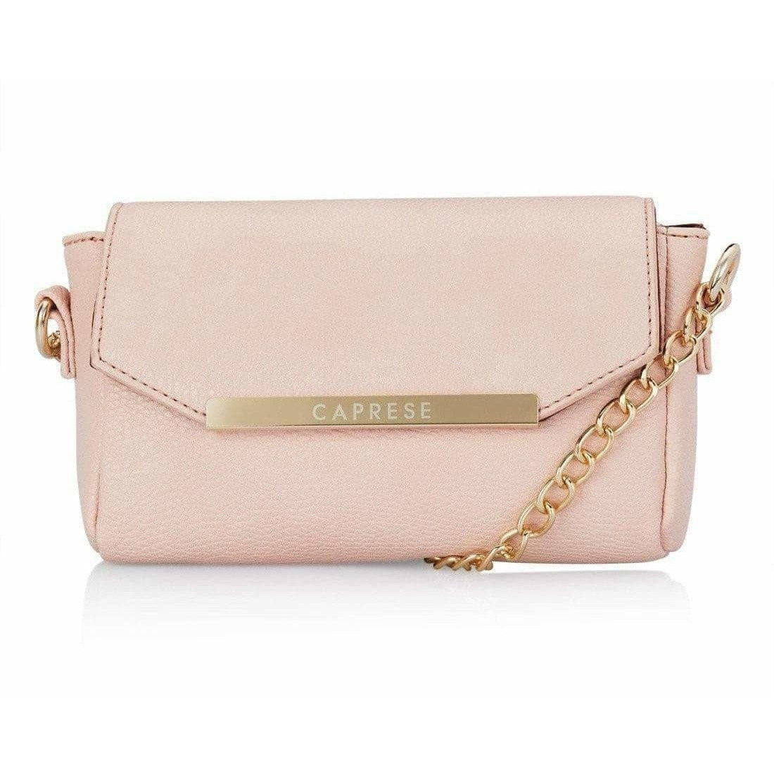 Caprese Women Casual Pink PU Sling Bag