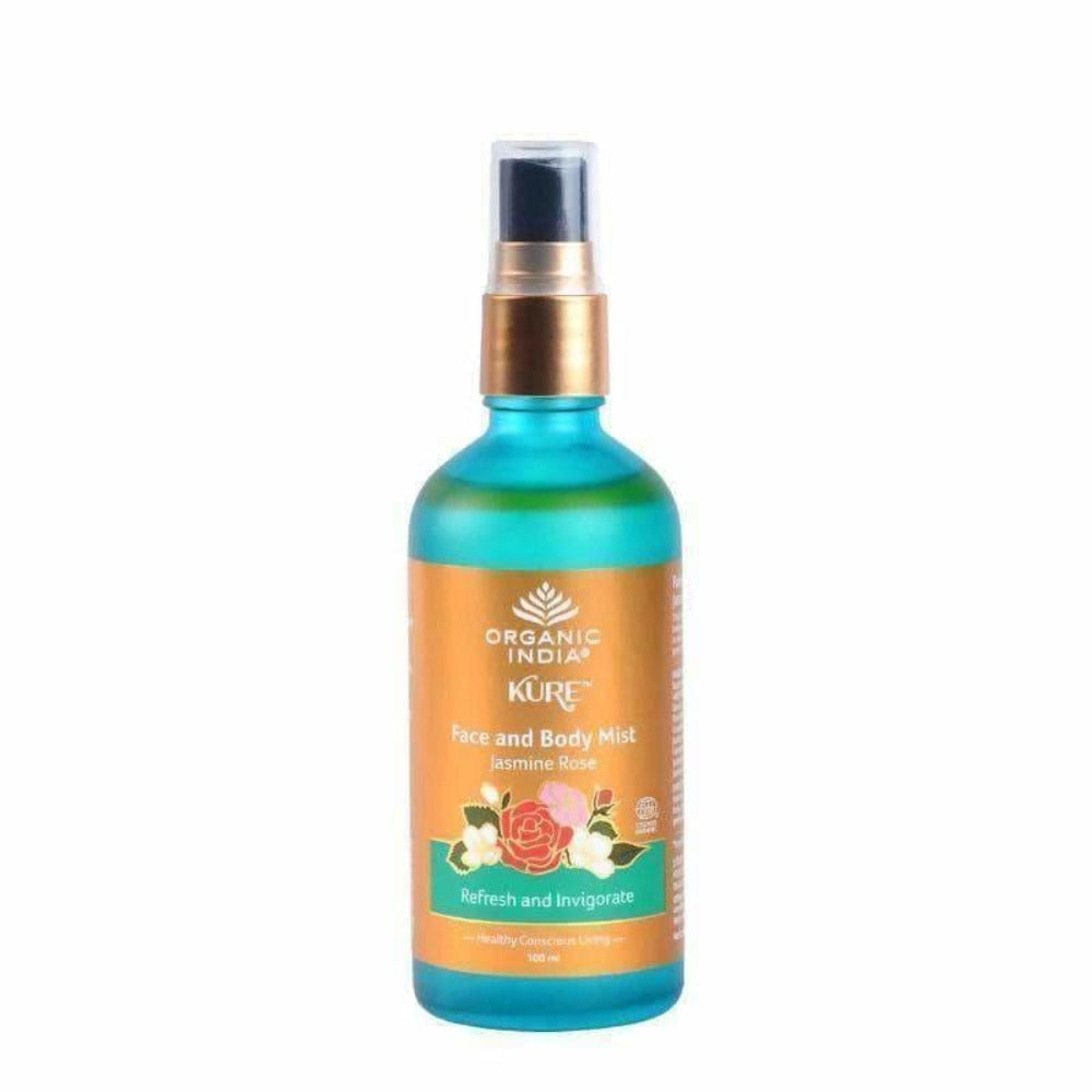 Organic India Face and Body Mist Jasmine Rose