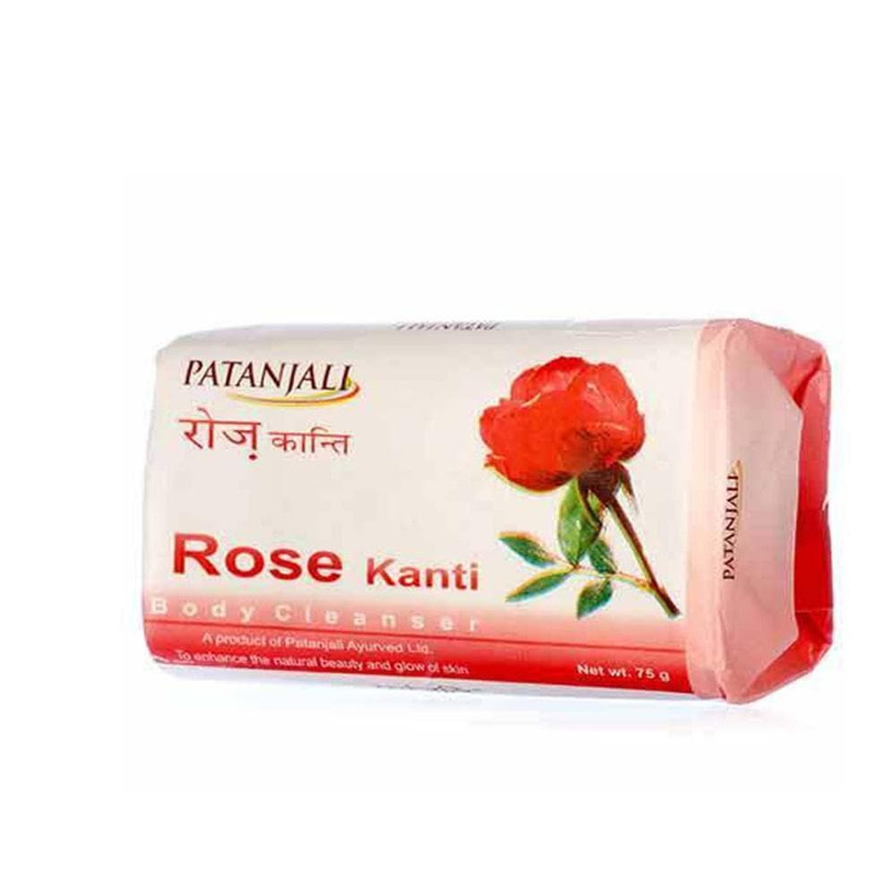 Patanjali Rose Kanti Body Cleanser Soap - Distacart