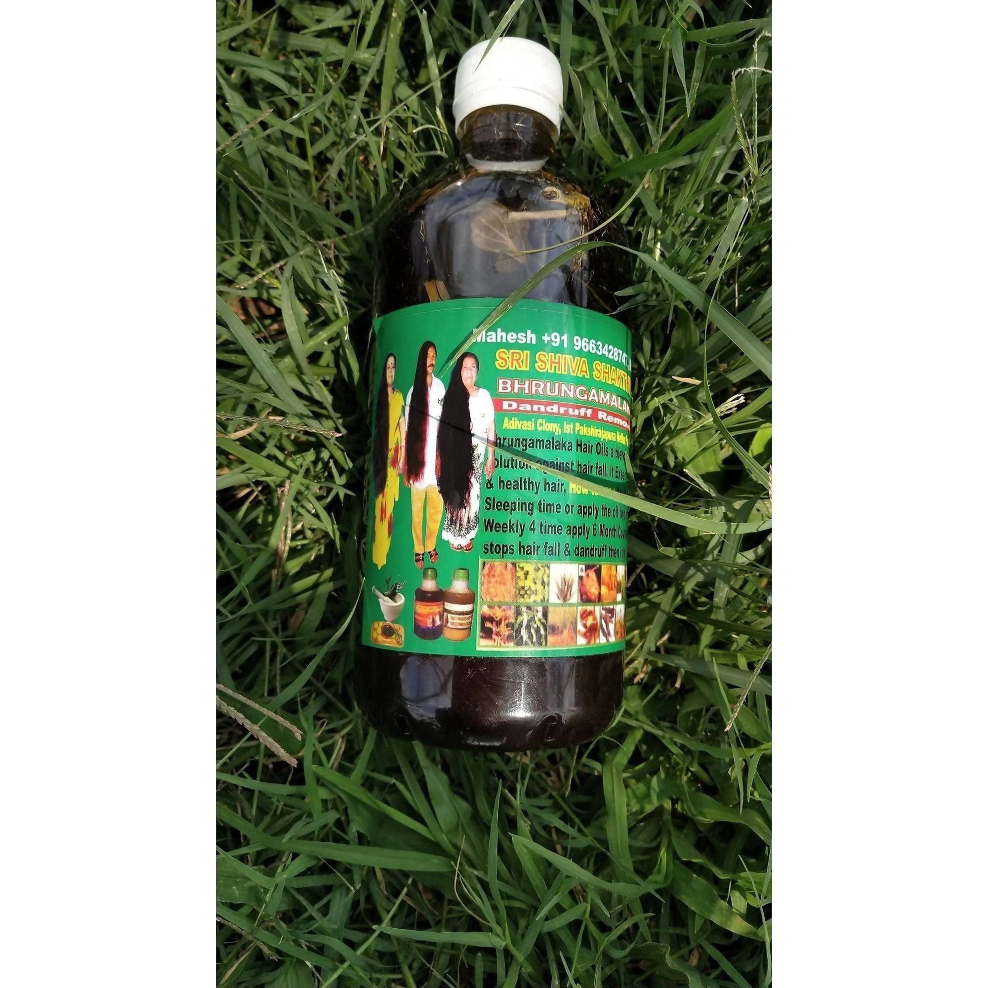 BRUNGAMALAKA HAIR GROWTH OIL 500 ml