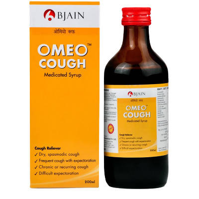 Bjain Homeopathy Omeo Cough syrup 200ml