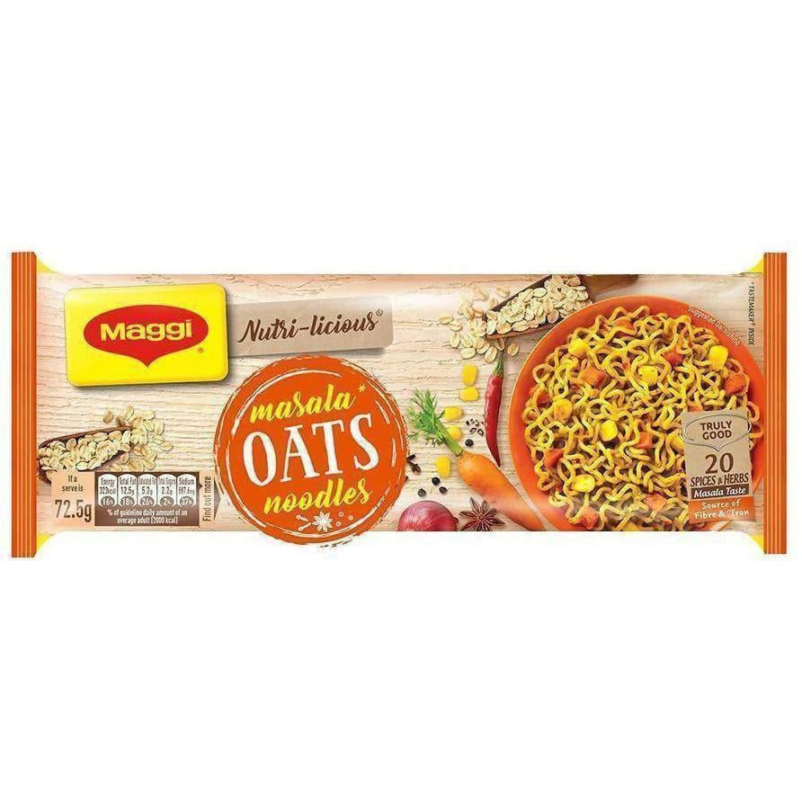 Maggi Nutri-Licious Masala Oats Noodles (Pack Of 4)