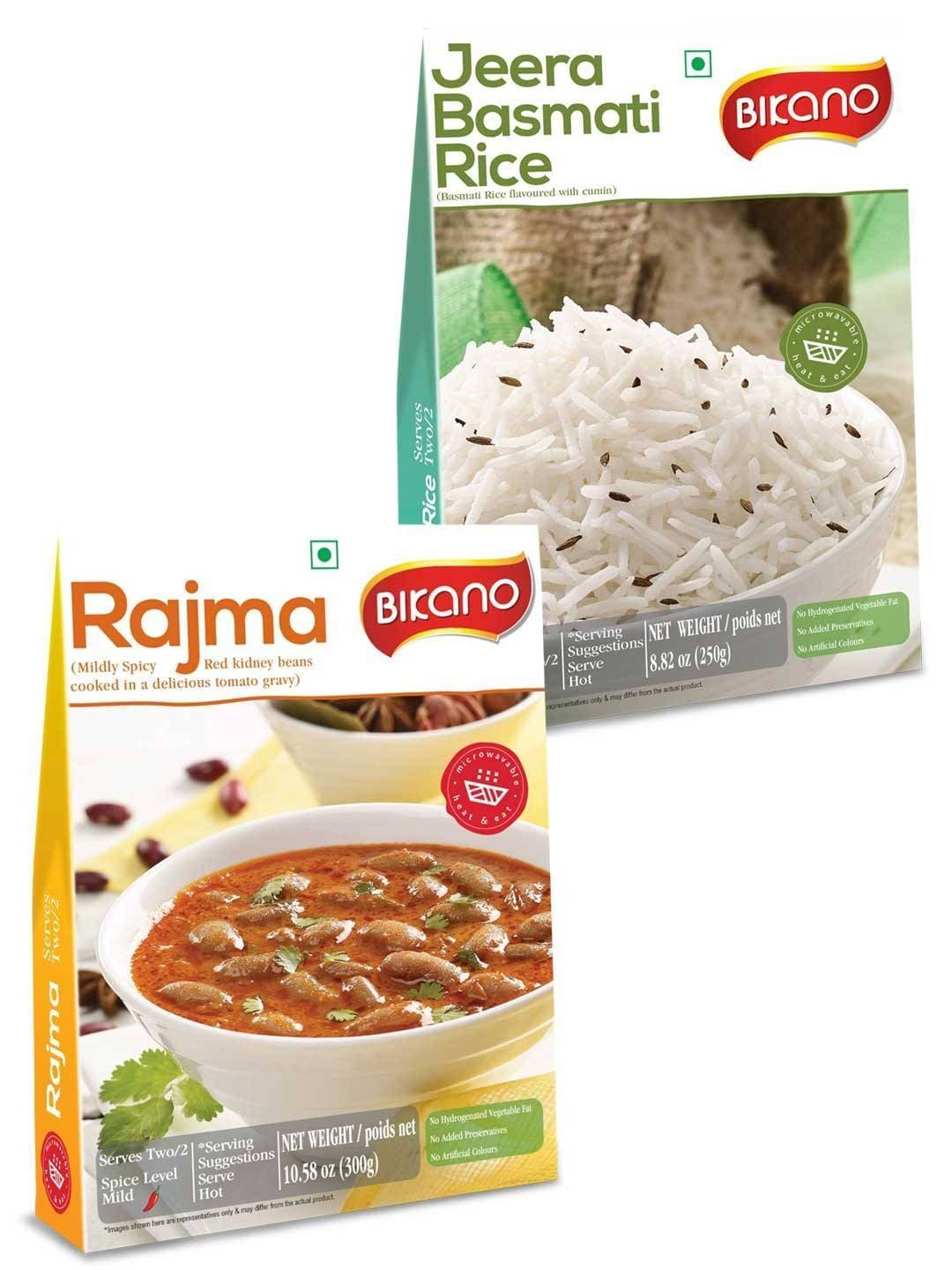 Bikano Rajma And Jeera rice