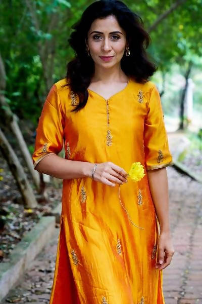 Byogi The Marigold Garden Kurta Set - Distacart