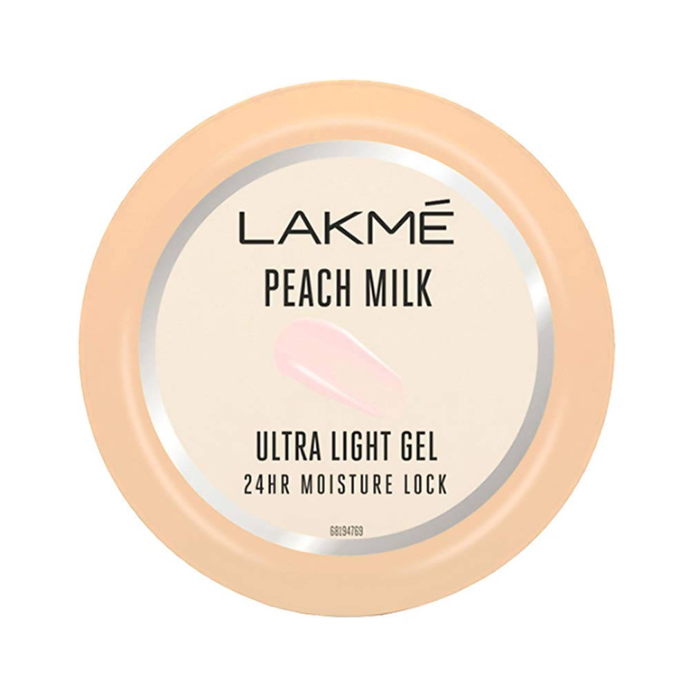Lakme Peach Milk Ultra Light Gel - Distacart