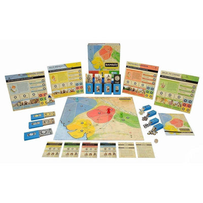 Samrat Strategy Board Game Based on Indian Kings History - Distacart