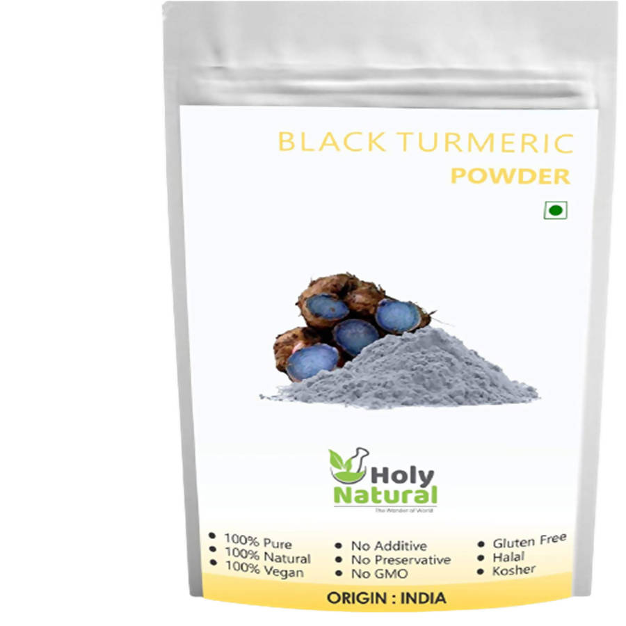 Holy Natural Black Turmeric Powder - Distacart