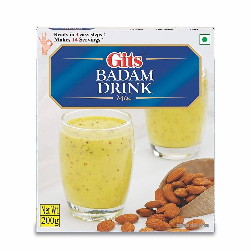 Gits Badam Drink Mix - Distacart