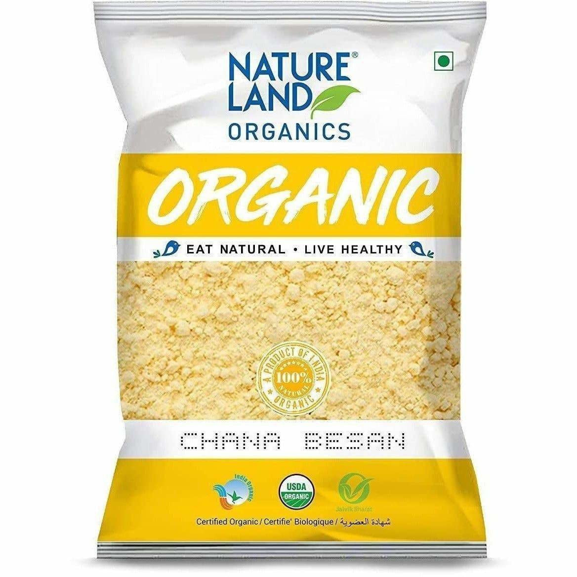 Nature land Organics Chana Besan