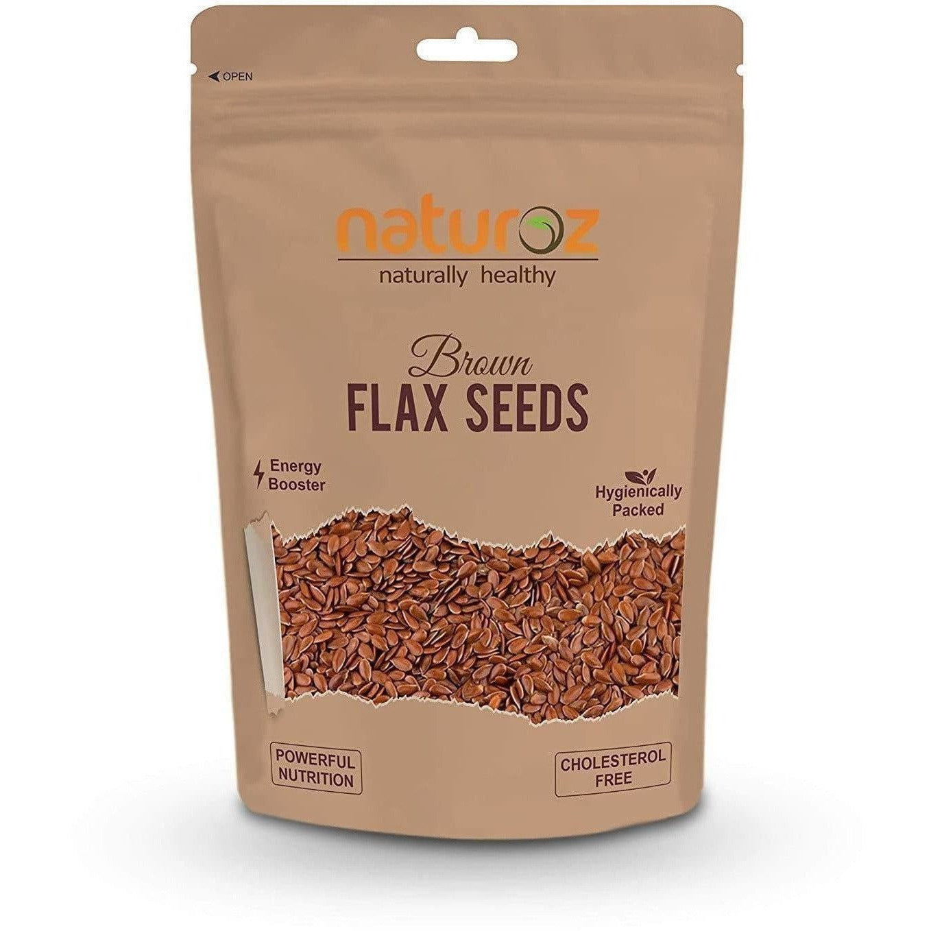 Naturoz Brown Flax Seeds