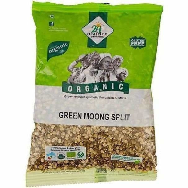 24 Mantra Organic Green Split Moong Dal