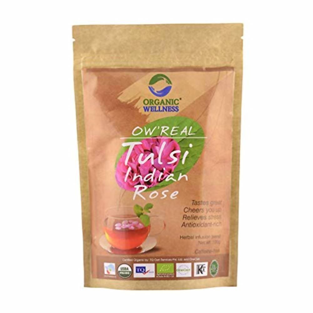 Organic Wellness Ow'Real Tulsi Indian Rose Zipper Pack
