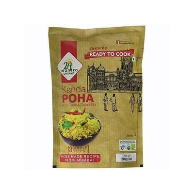 24 Mantra Organic Ready to Cook Kanda Poha - Distacart