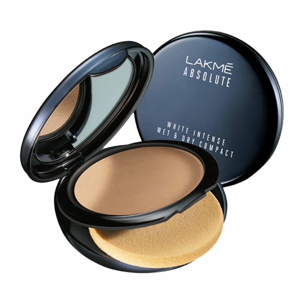 Lakme Absolute White Intense Wet and Dry Compact - Beige Honey - Distacart