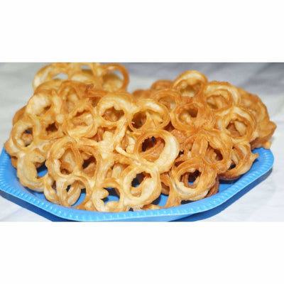 Rose Shape Flower Salted / Salted Challaguttulu