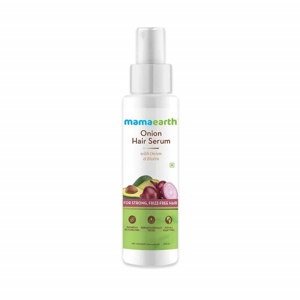 Mamaearth Onion Hair Serum For Strong , Frizz Free Hair