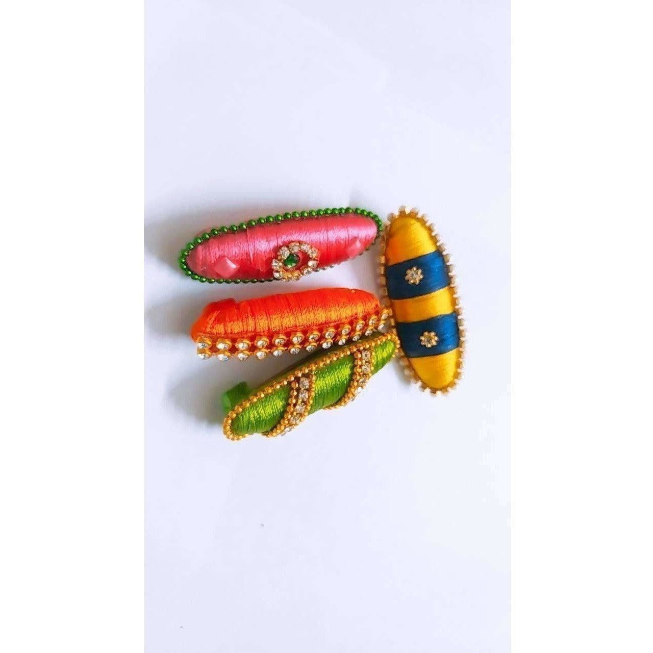 Saree Pins - Set of 4