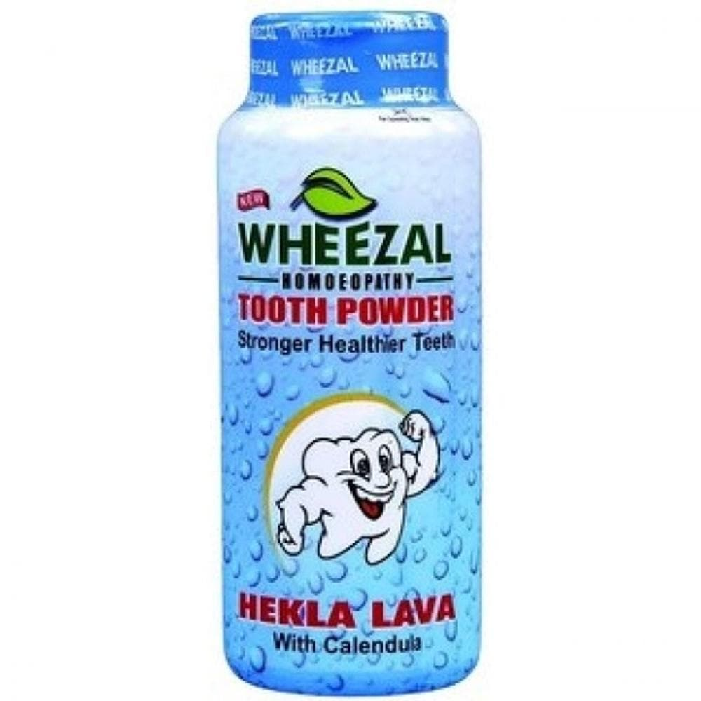 Wheezal Hekla Lava Tooth Powder 100gms - Distacart