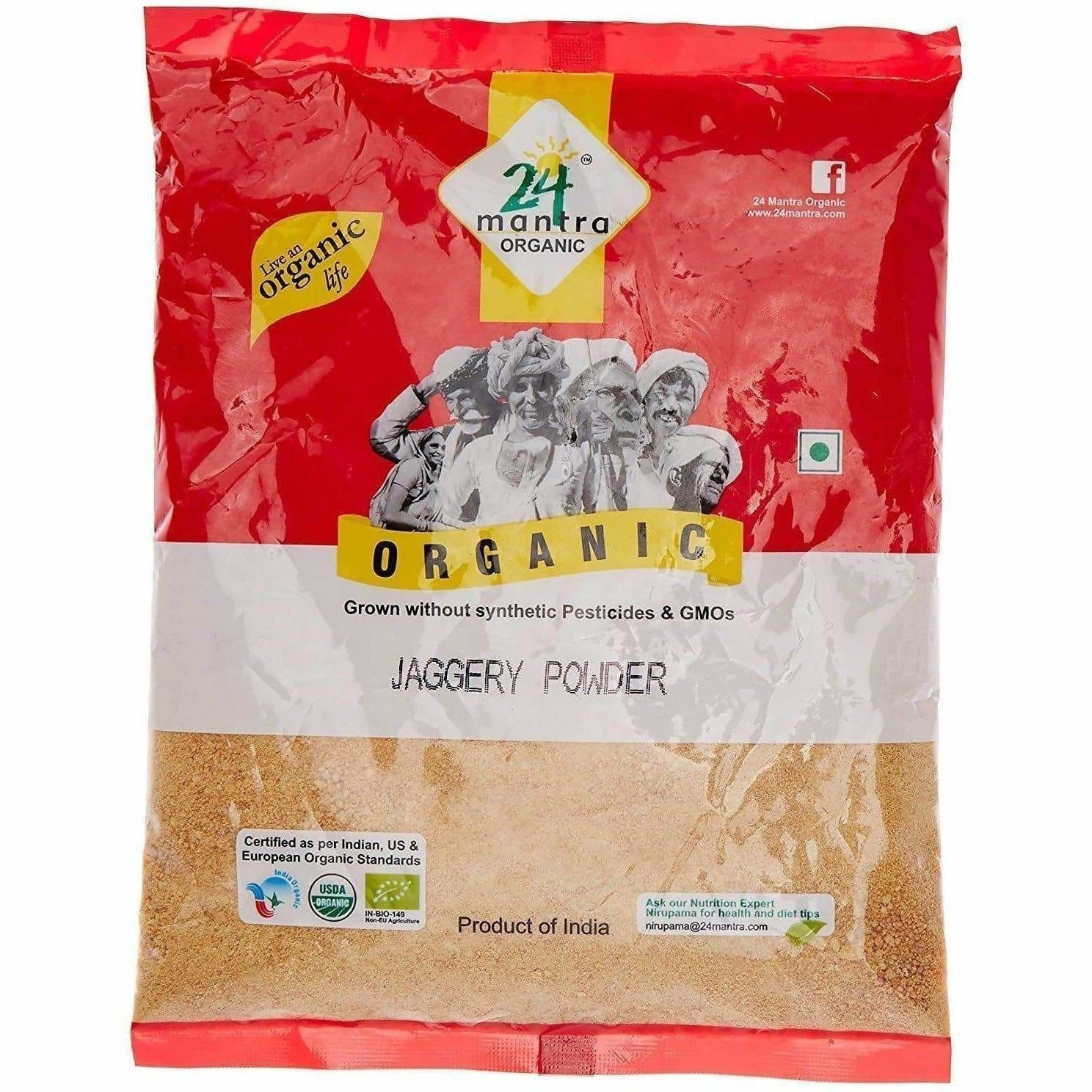 24 Mantra Organic Jaggery Powder 500gm