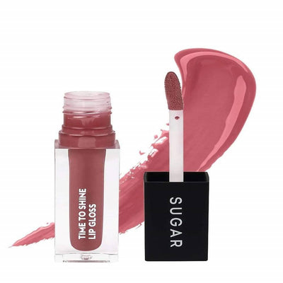 Sugar Time To Shine Lip Gloss - Velma Pinkley (Pink Nude) - Distacart