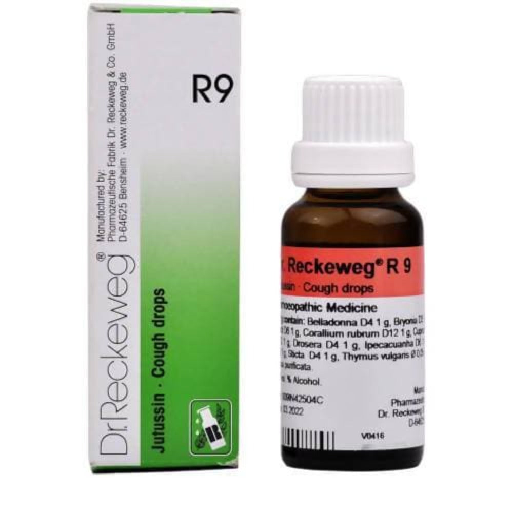 Dr. Reckeweg R9 Jutussin- Cough Drops