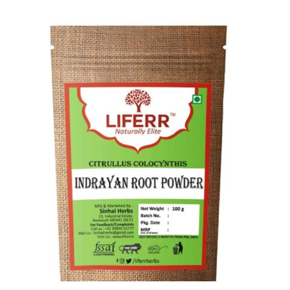 Liferr Indrayan Roots Powder/ Citrullus Colocynthis Roots Powder