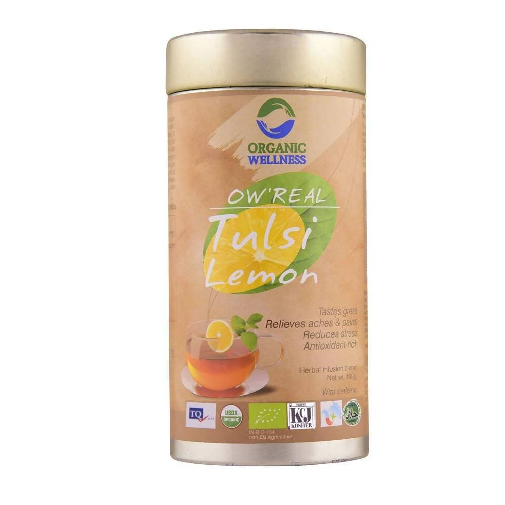 Organic Wellness Ow'Real Tulsi Lemon Tin Pack