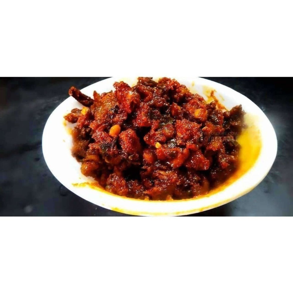 Dried Mango Pickle / Sukhe Aam Ka Achaar / Magaya Pickle