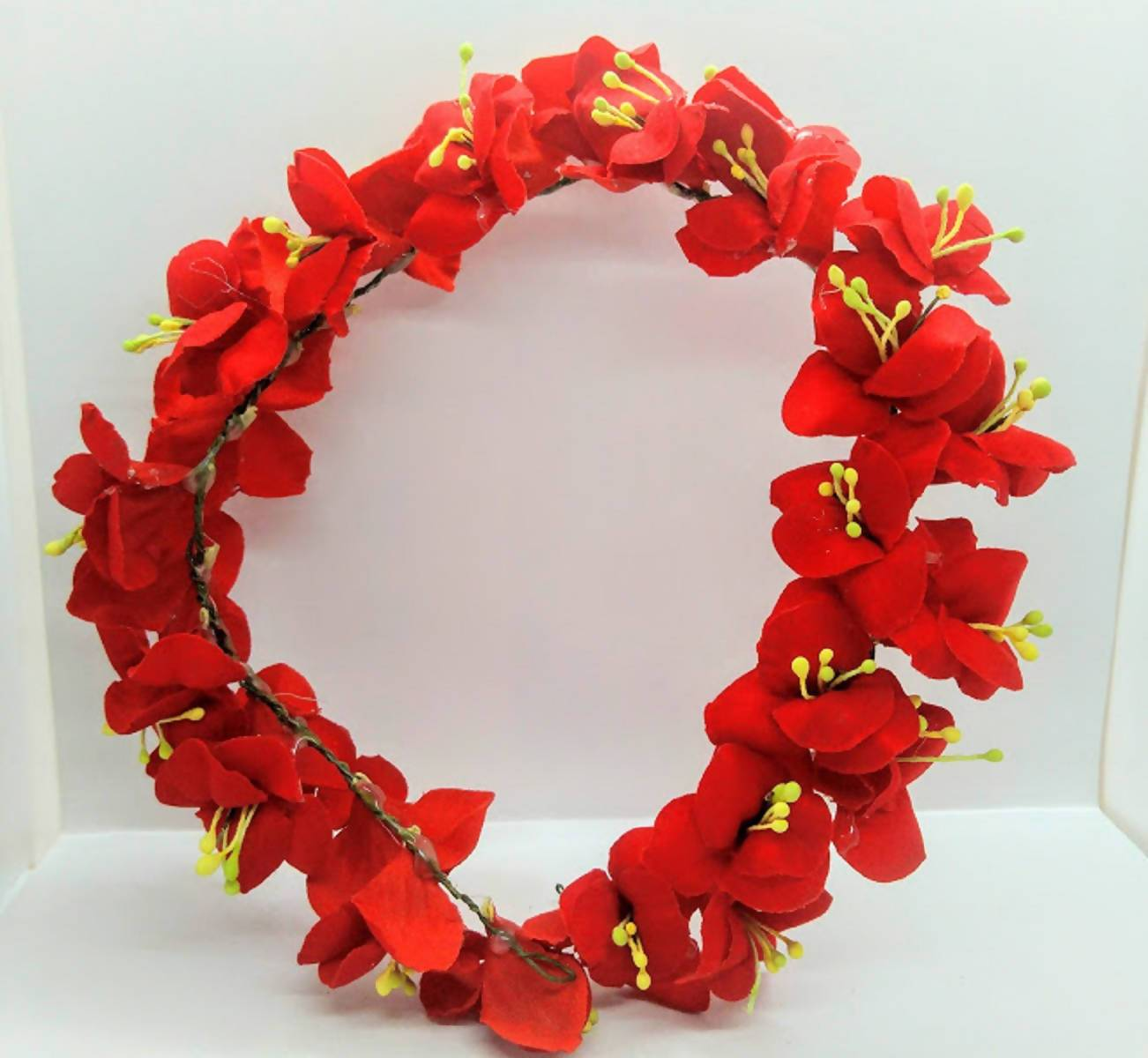 Red Flower Hair Accessories