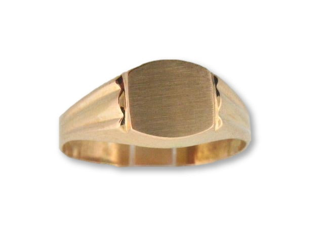 1026 - 19.2kt Portuguese Gold Teenager/Men Ring - Columbia Jewelers, Fall River, Massachusetts, USA