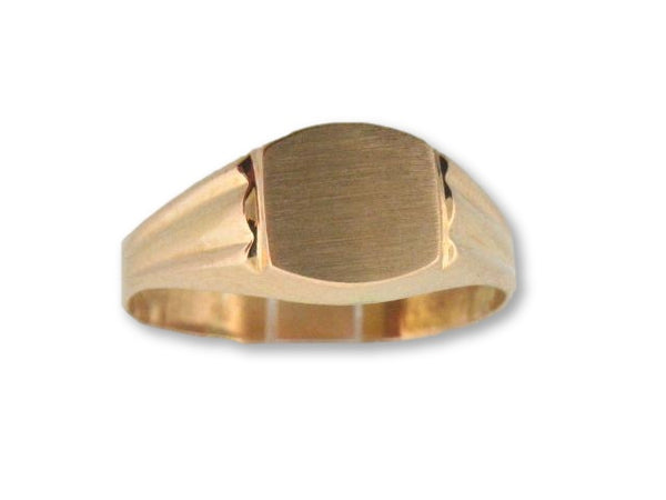19.2kt Portuguese Gold Teenager / Men Hollow Ring