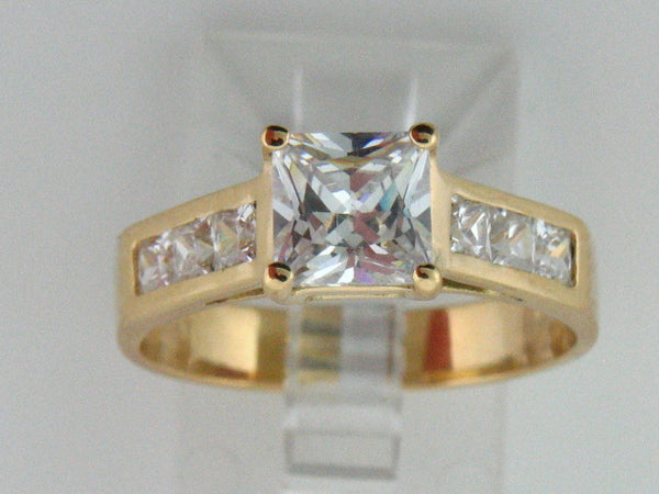 2846 - 19.2kt Portuguese Gold Engagement Ring - Columbia Jewelers, Fall River, Massachusetts, USA