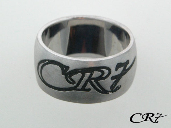 C10.009 - Sterling Silver CR7 Collection Solid Band Ring - Columbia Jewelers, Fall River, Massachusetts, USA